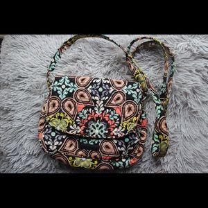 Vera Bradley Sierra patterned crossbody purse